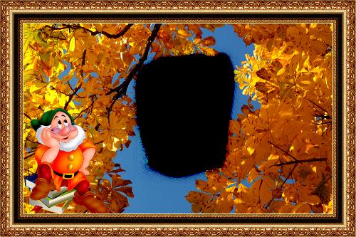 Осень. Фоторамка.