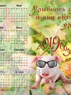 календарь 2019 1