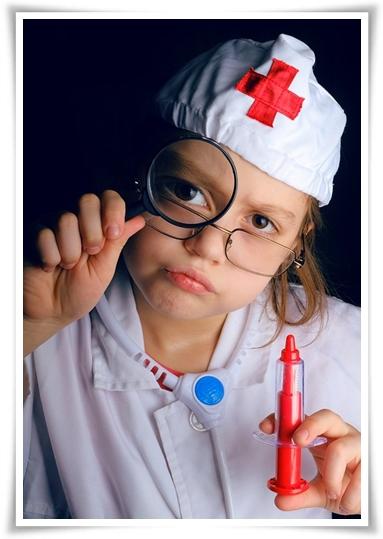 Добрый доктор. Поход в больницу.