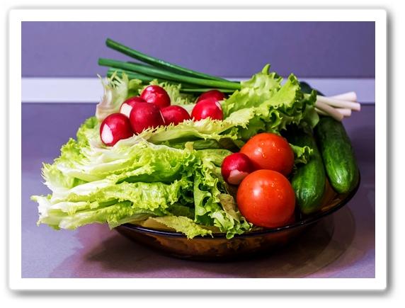 здоровье. Свежая зелень
